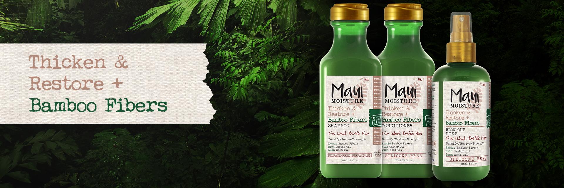 Maui Moisture Bamboo Fibers Shampoo