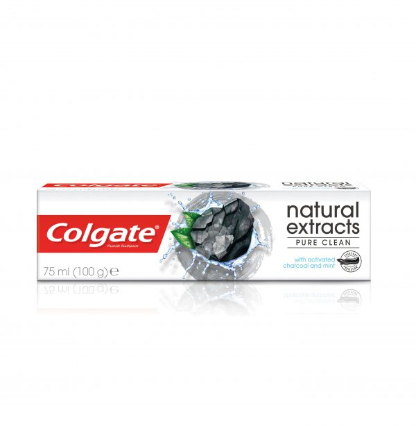 Colgate Natural Extracts Activated Charcoal + White Mint Toothpaste 75ml